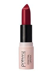 Pretty By Flormar Essential Lipstick, 4gm, 030 Burgundy, Red