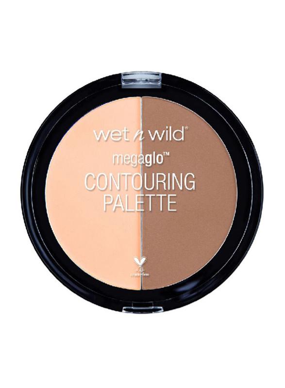 Wet N Wild MegaGlo Contouring Palette, 12.5 gm, E7491 Dulce, Beige