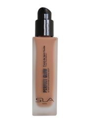 SLA Perfect Glow Fluid Foundation, 30ml, Cinnamon, Biege