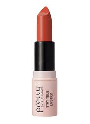 Pretty By Flormar Stay True Lipstick, 4gm, 003 Caramel, Brown