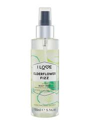 I Love Elder Flower Fizz 150ml Body Mist Unisex