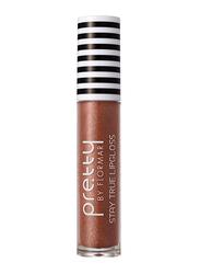 Pretty By Flormar Stay True Lip Gloss, 6ml, 018 Coffee, Brown
