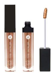 Absolute New York Metallic Matte Liquid Lipstick, 5.2gm, Rose Gold
