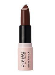 Pretty By Flormar Matte Lipstick, 4gm, 018 Deep Sangria, Brown