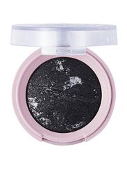 Pretty By Flormar Stars Baked Eye Shadow, 3.3gm, 06 Black Glitters, Black