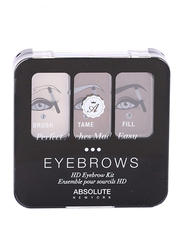 Absolute New York Eyebrow Kit, 3.6gm, Cocoa, Beige