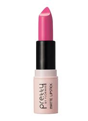 Pretty By Flormar Matte Lipstick, 4gm, 007 Sweet Pink