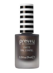 Pretty By Flormar Matte Nail Enamel, 9ml, 015 Bronze, Brown