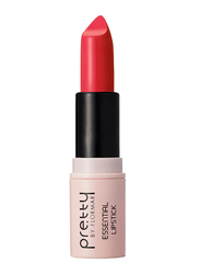 Pretty By Flormar Essential Lipstick, 4gm, 021 Hot Coral, Red