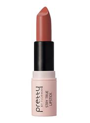 Pretty By Flormar Stay True Lipstick, 4gm, 002 Creamy Coffee, Brown