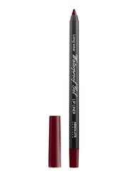 Absolute New York Waterproof Gel Lip Liner, 1.1gm, Berry, Red