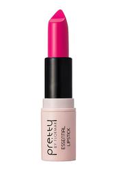 Pretty By Flormar Essential Lipstick, 4gm, 017 Deep Fuchsia, Pink