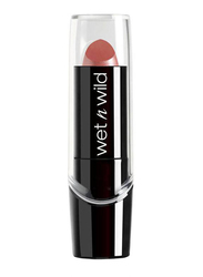 Wet N Wild Silk Finish Lipstick, 3.6gm, E530D Dark Pink Frost, Pink