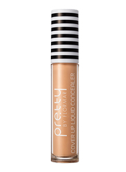 Pretty By Flormar Cover Up Liquid Concealer, 6ml, 002 Ivory, Beige
