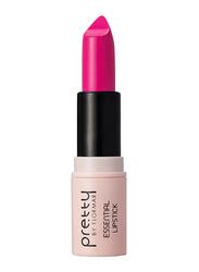 Pretty By Flormar Essential Lipstick, 4gm, 018 Fuchsia, Pink