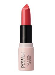 Pretty By Flormar Stay True Lipstick, 4gm, 011 Rosy Mahogany, Brown