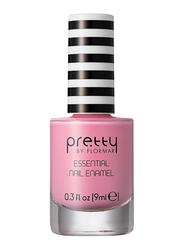 Pretty By Flormar Essential Nail Enamel, 9ml, 008 Pink Bubbles, Pink