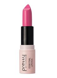 Pretty By Flormar Essential Lipstick, 4gm, 016 Vivid Pink