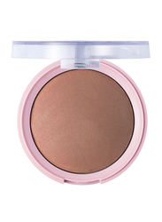 Pretty By Flormar Baked Powder, 7.5gm, 010 Light Coffee, Brown