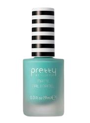 Pretty By Flormar Matte Nail Enamel, 9ml, 010 Mint, Green