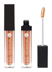 Absolute New York Metallic Matte Liquid Lipstick, 5.2gm, Penny Lane, Gold