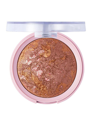 Pretty By Flormar Baked Blush, 7.5gm, 005 Rosy Bronze, Brown