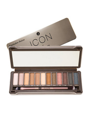 Absolute New York Icon Palette Eye Shadow, 13.2gm, Exposed, Multicolor