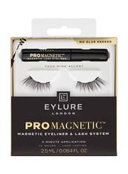 Eylure Pro Magnetic Eye Liner Kit, Accent, Black
