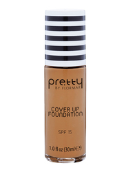 Pretty By Flormar SPF 15 Cover Up Foundation, 30ml, 011 Honey, Beige