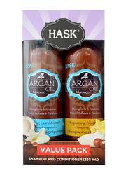 Hask Argan Shampoo and Conditioner Set, 2 Pieces