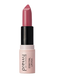 Pretty By Flormar Essential Lipstick, 4gm, 014 Rosy Nude, Pink