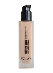 SLA Perfect Glow Fluid Foundation, 30ml, Pink Beige