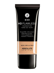Absolute New York HD Flawless Foundation, 28ml, Natural, Beige