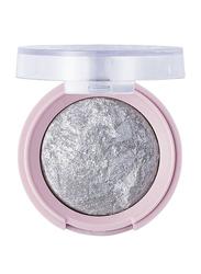 Pretty By Flormar Stars Baked Eye Shadow, 3.3gm, 05 Silver Blaze, Silver