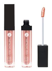 Absolute New York Metallic Matte Liquid Lipstick, 5.2gm, Bellini, Gold