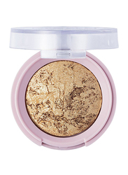 Pretty By Flormar Stars Baked Eye Shadow, 3.3gm, 02 Golden Party, Gold