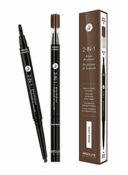 Absolute New York 2-In-1 Eye Brow Perfecter, 1.3gm, Honey Brown