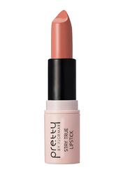 Pretty By Flormar Stay True Lipstick, 4gm, 001 Tan, Beige