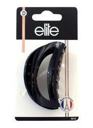 Elite Medium Fashion Hair Clip 5212, Black