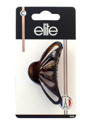 Elite Medium Fashion Hair Clip 5208, Brown