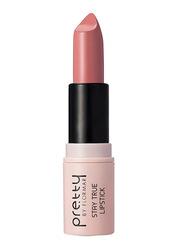 Pretty By Flormar Stay True Lipstick, 4gm, 004 Nude Pink