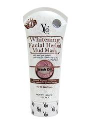 Yong Chin Whitening Facial Herbal Mud Mask, 150ml