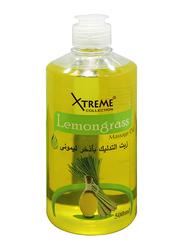 Xtreme Collection Lemon Grass Massage Oil, 500ml