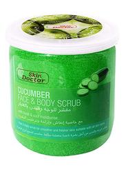 Skin Doctor Cucumber Face & Body Scrub, 500ml