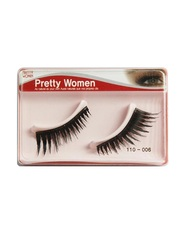 Pretty Woman 110-006 False Eyelashes, Black