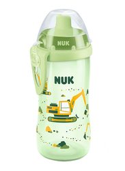 Nuk Flexi Cup 300ml with Straw, Green