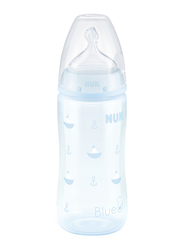 Nuk First Choice Plus Bottle 300Ml with Teat, Baby Blue