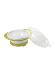 Nuk Easy Learning Esslernschale with 2 Lids, Green