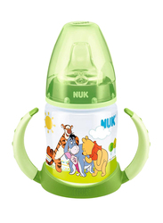 Nuk First Choice Disney Winnie the Pooh Learner Bottle 150ml, Green