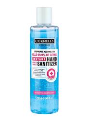 Cornell's Wellness Instant Hand Sanitizer Gel, Blue, 250ml
